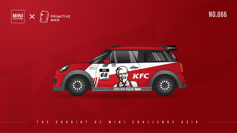 肯德基KFC车队